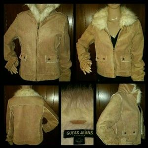 Guess Jackets & Blazers - Guess jacket with faux fur detail
