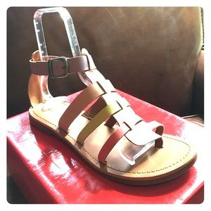 Kickers Shoes - Gladiator Sandals: NEW 🌸🍒🍏🍋