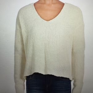 ATM Anthony Thomas Melillo Sweaters - ATM Cream Sweater