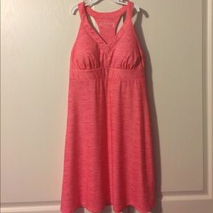 Dresses & Skirts - Coral color Racerback sun dress.
