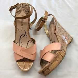 Sam & Libby Shoes - SAM & LIBBY Wedge Sandals