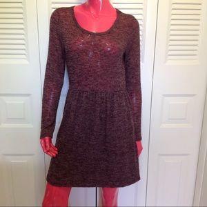 Moa Moa Dresses & Skirts - Moa Moa Long Sleeve Knit Dress