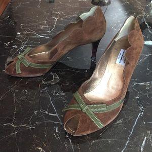 Alberta Ferretti Shoes - Philosophy di Alberta Ferretti peep toe pumps