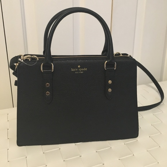 85340d3e09f0 Kate spade mulberry street lise bag NWT black
