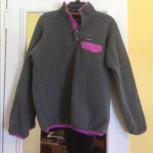 Patagonia Other - Grey Patagonia button sweater