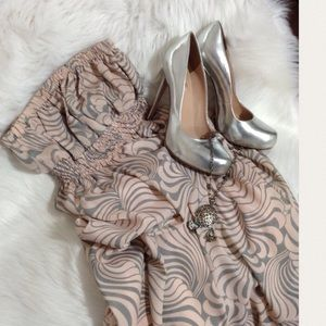 Lily Wang Dresses & Skirts - 🆕Lily Wang High- Low Maxi Dress