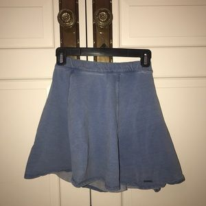 Abercrombie & Fitch Chambray Skater Skirt