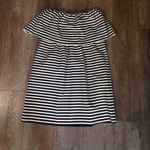 Zara Dresses & Skirts - Zara Medium black & white striped sleeveless dress