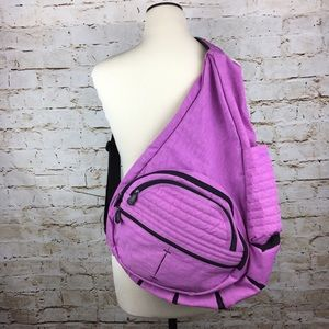 Ameribag Handbags - Ameribag healthy backpack large pink