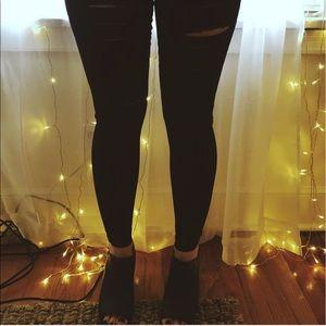 ROMWE Pants - Black stretch Leggings NWOT