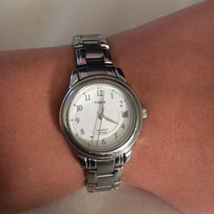 Timex Accessories - Silver Timex Watch