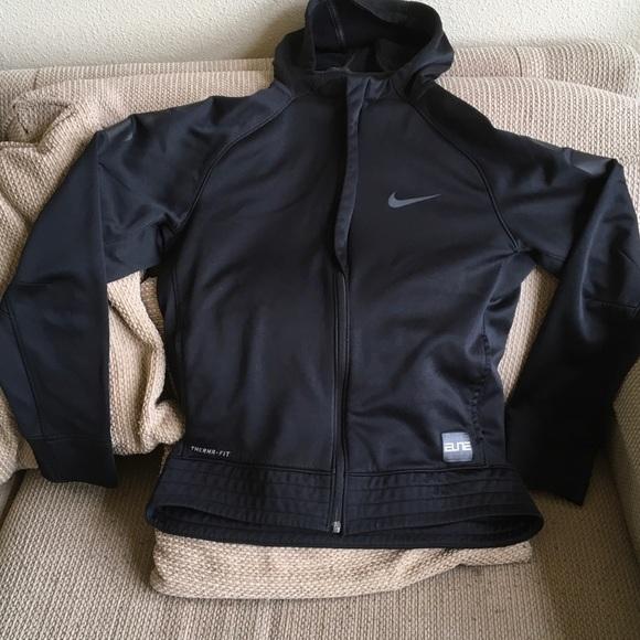 1d70de97 Nike Jackets & Coats   Youth Elite Boygirl Jacket Black Full Zip ...