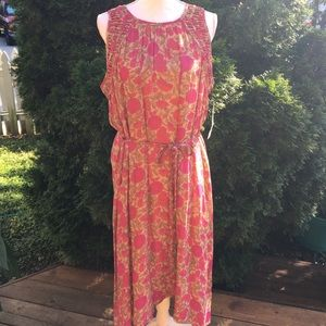 Sigrid Olsen Dresses & Skirts - Sigrid Olsen Signature Floral Dress NWT Lined