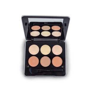 Contour palette kit w/ brush mirrored compact case