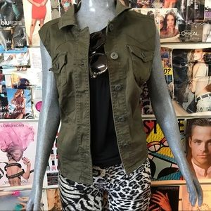 Highway Jeans Jackets & Blazers - 💕Army Green Plus Size Vest 💕