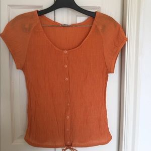 Christopher & Banks Tops - Scoop neck blouse