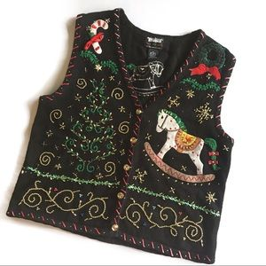Designers Originals Christmas Sweater Vest D1