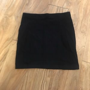 *Black Mini Skirt*
