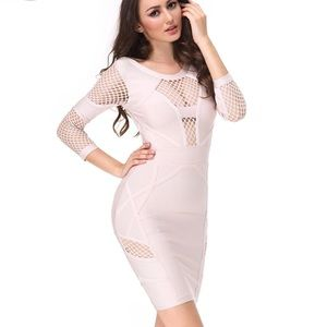 want my look Dresses & Skirts - Bandage nude dress backless