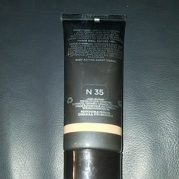 Cover Fx Natural Finish Oil Free Foundation N