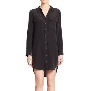 Equipment Dresses & Skirts - Equipment slim signature silk shirt dress sz S