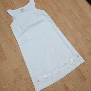 Loft Embellished Shift Dress