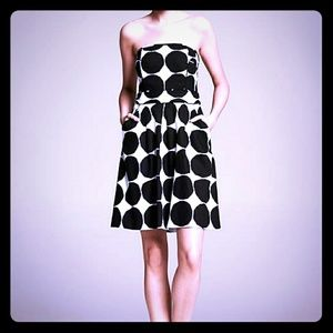 Banana Republic Dresses & Skirts - Marimekko Collection Polka Dot Strapless Dress