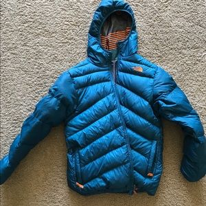 Reversible North Face down jacket