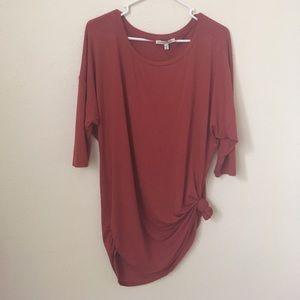 Burnt orange 🍊 tunic shirt