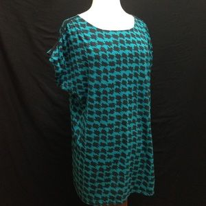 Cato Tops - Cato Houndstooth Design Top