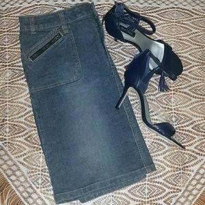 Route 66 Dresses & Skirts - Route 66 Denim Mini Skirt
