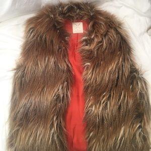 Pins & Needles Jackets & Blazers - Fur Vest