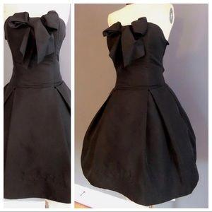 Luella for Target Black Strapless Bow Dress 15