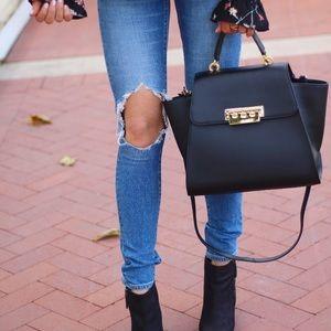 Zac Posen Handbags - Zac Posen Eartha Bag in Black