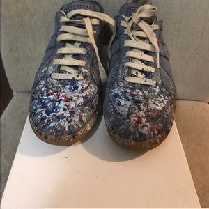 Maison Margiela Shoes - Paint splatter Maison marginela