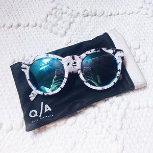 Quay Accessories - QUAY Marble Shell Sunglasses