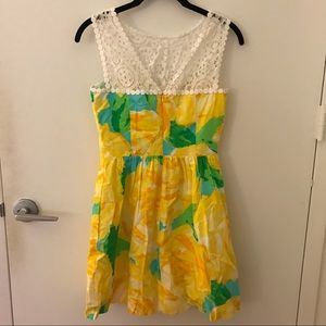 Lilly Pulitzer Dresses - Lilly Pulitzer Sunglow Reagan Dress NWT
