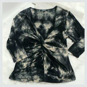 Karen Kane Tops - Tie-Dye Twist Jersey top