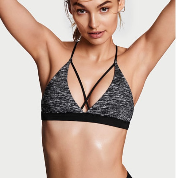 c7b093608c Victoria s Secret Strappy Triangle Sports Bra