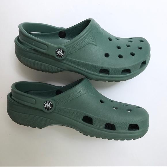 54ca1e7e2b0c5 CROCS Shoes | Sage Green Slip On Sandals Clogs | Poshmark