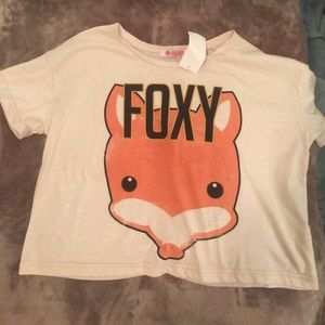 OASAP Tops - M/L Foxy Crop Top