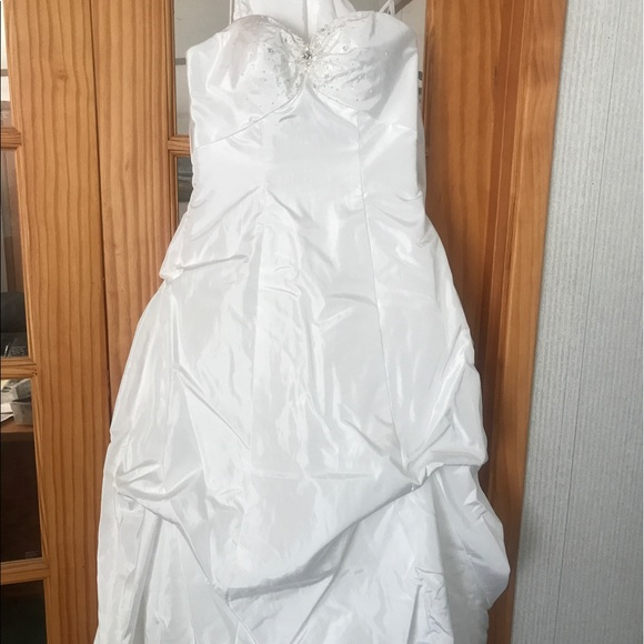 10 off mori lee dresses skirts sz 8 mori lee taffeta for Mori lee taffeta wedding dress