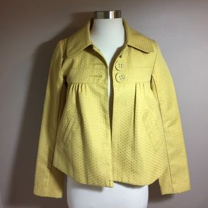 BB Dakota Jackets & Blazers - BB Dakota Lined Mustard Jacket