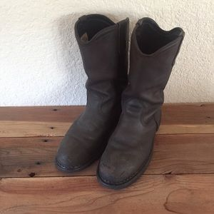 Red Wing Shoes Other - Red Wing Steel-toe Leather Boots