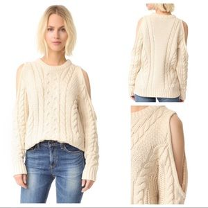 Endless Rose Sweaters - Endless Rose Cold Shoulder Sweater