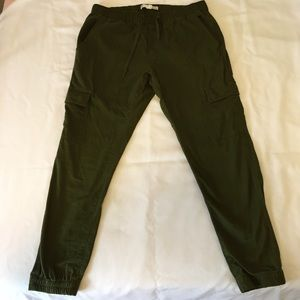 Univibe Other - Men's Army Green Cargo Jogger Pants