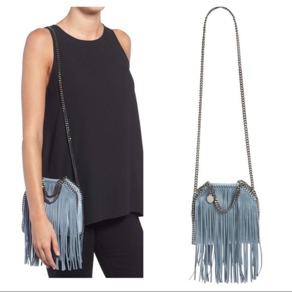 b3d831e3a3 STELLA MCCARTNEY TINY FRINGE FALABELLA. M 5945e7225c12f8446003018a. Other  Bags ...