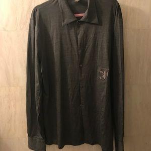 Gianfranco Ferre Other - Gianfranco Ferre knit shirt. Size L 56 dress shirt