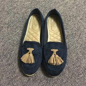 Ollio Shoes - Flats - Navy