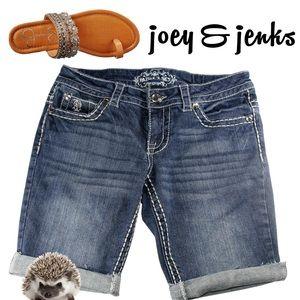 Paisley Sky Pants - 🍉🍉SALE🍉🍉Paisley Sky Skinny Jean Shorts